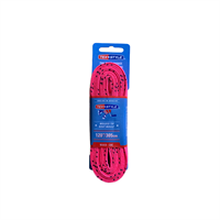 Pink navy waxed laces